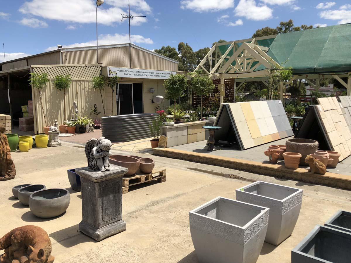 Concrete Pots & Pavers